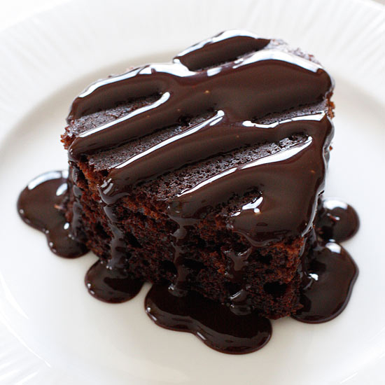 Images Of Chocolate Cake : Homemade Skinny Chocolate Cake Skinnytaste