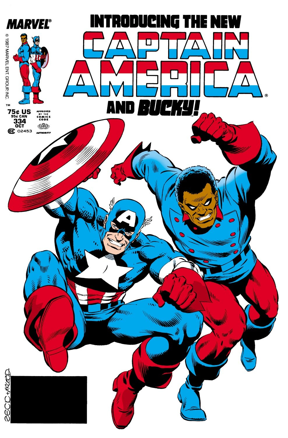 Captain America (1968) Issue #334 #263 - English 1