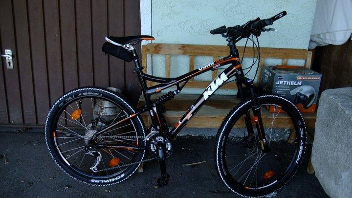 fahrrad fahndung ktm fully comp rs orange schwarzes. Black Bedroom Furniture Sets. Home Design Ideas