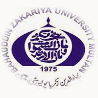 Bahauddin Zakariya University Multan M.Com Date Sheet 2016 Part 1, 2