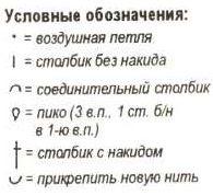Условные обозначения схем крючком