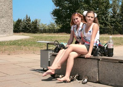 Party rusian teen grils