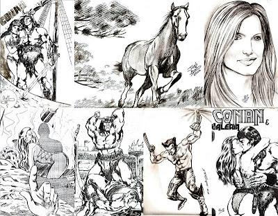 Desenhos de José Adail
