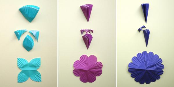 Как сделать легко и быстро цветы из бумаги оригами