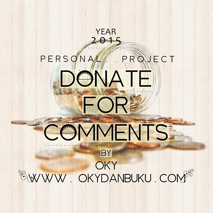 Personal Project 2015: Donate for Comments