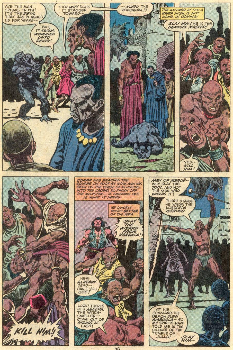 Conan the Barbarian (1970) Issue #107 #119 - English 16