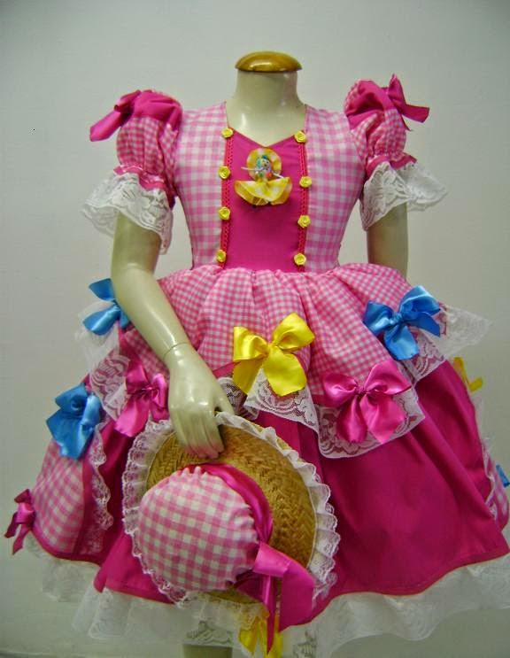 Como fazer vestido de Festa Junina , passo a passo, dicas, fotos e modelos