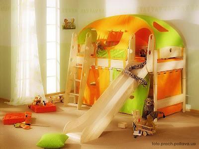 Детский многоярусный гарнитур: модель Fleximo Exklusiv 125 от фабрики Paidi.