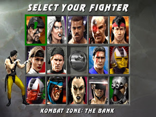 Mortal kombat 3 - personagens