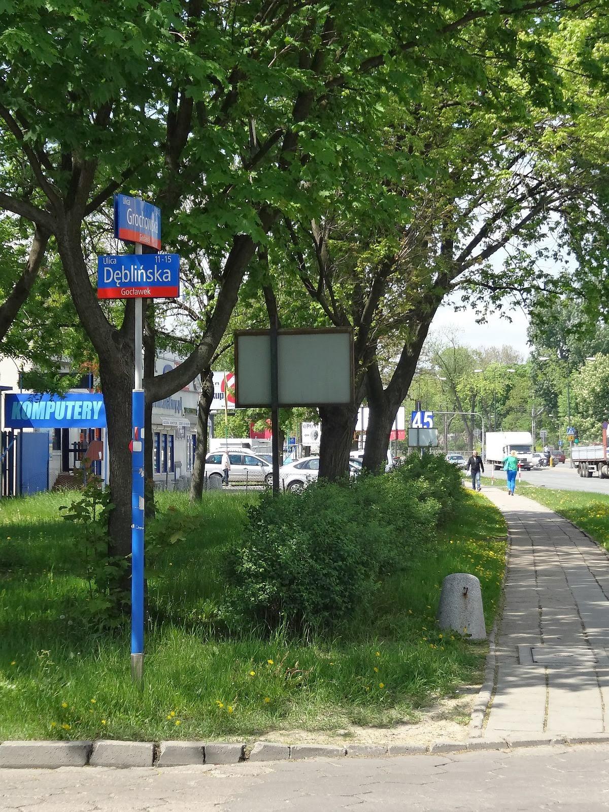 Ulica Dęblińska