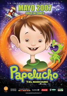 Ver online: Papelucho y el marciano (2007)