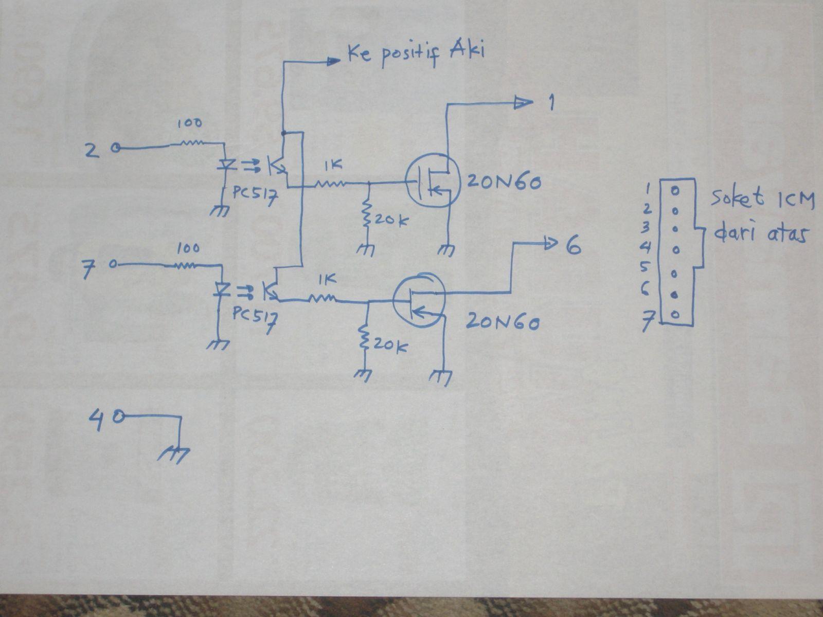 Otak Atik Blazer Sendiri Membuat Icm Wiring Diagram Opel Montera Gambar Rangkaian Pengganti