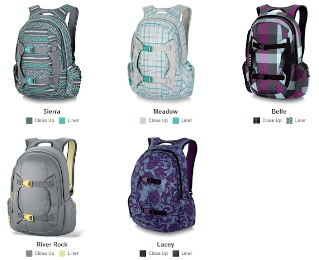 Dakine Mission Pack - Women's Designs