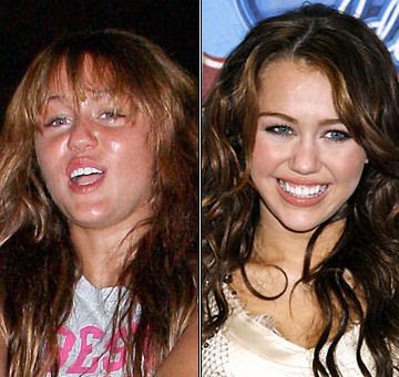 miley cyrus without makeup 2011 hollywood makeup