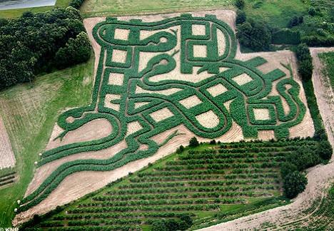 Los laberintos de los jardines jardiner a y paisajismo for Autoarq paisajismo
