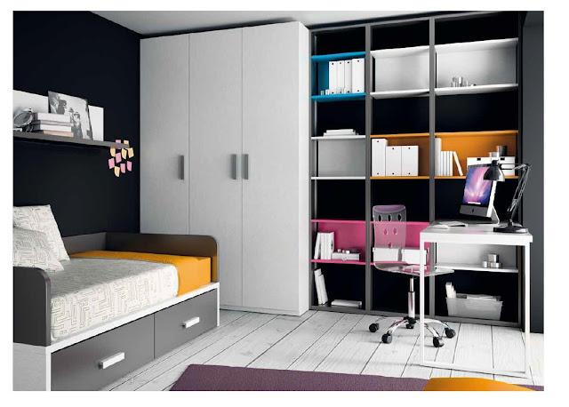 Muebles dormitorios juveniles online singul rea for Muebles juveniles online