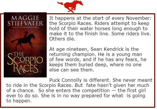 book review the scorpio races by