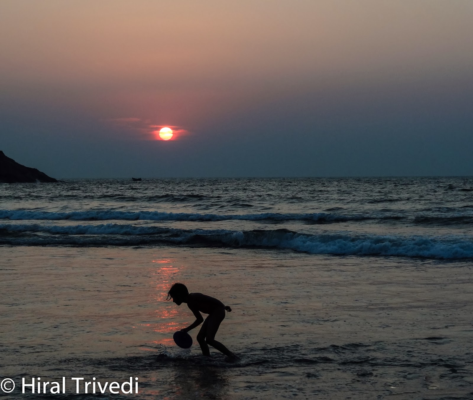 Watching the sunset at Kudle Beach was one of the experiences that will stay etched in my memories.