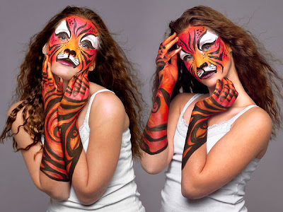 human body paint - human body illustrations art - beautiful art