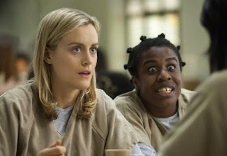 "Uzo Aduba as ""Crazy Eyes"" in Orange is the New Black"