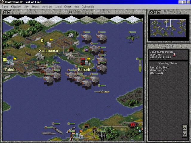 Civilization 2: Test of Time - Dreadnoughts Screenshot