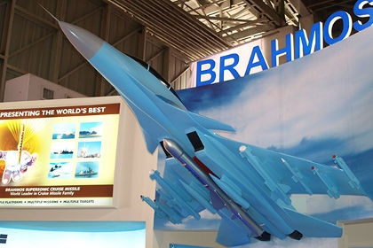 India's Su-30MKI equipped with Brahmos Missile
