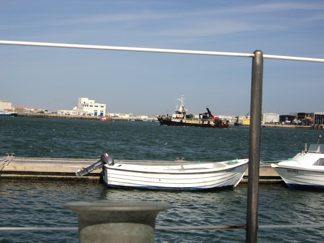 Fishing trawler in Peniche