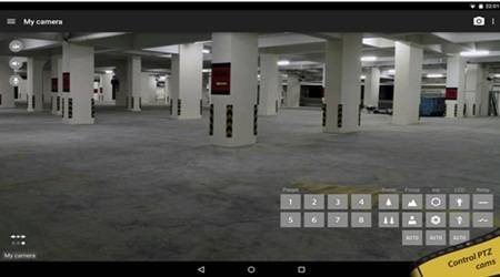 CCTV Android via Bluetooth