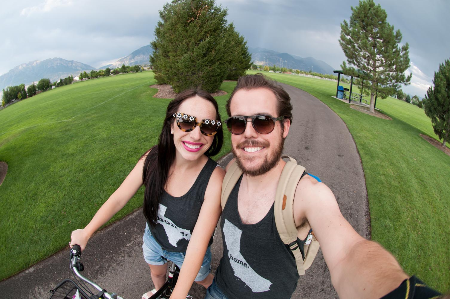 Couples Bike Ride