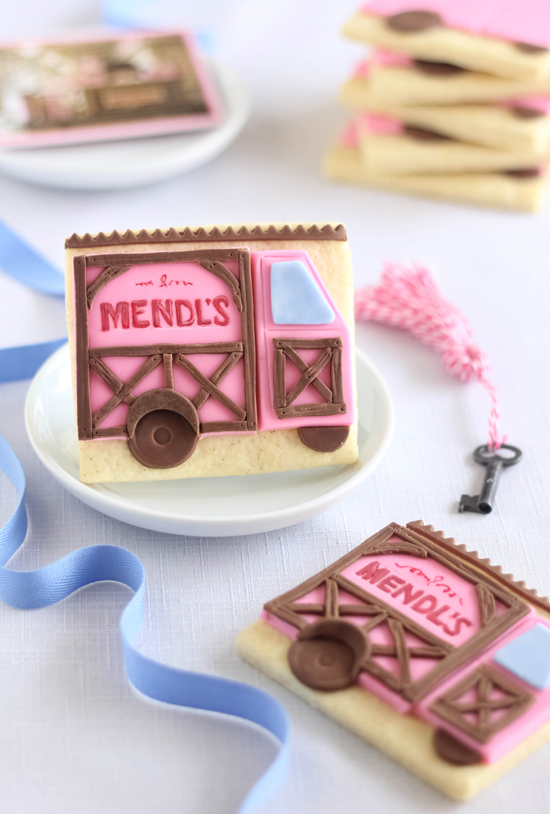 Special Delivery! Mendl's Shortdough Cookies