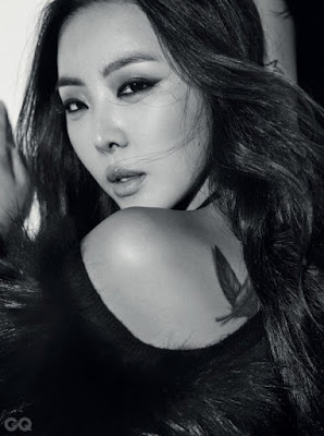 Narsha Brown Eyed Girls GQ November 2015
