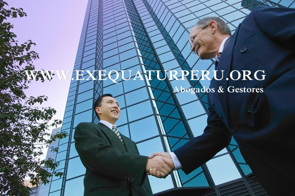 EXEQUATUR PERÚ ABOGADOS & GESTORES