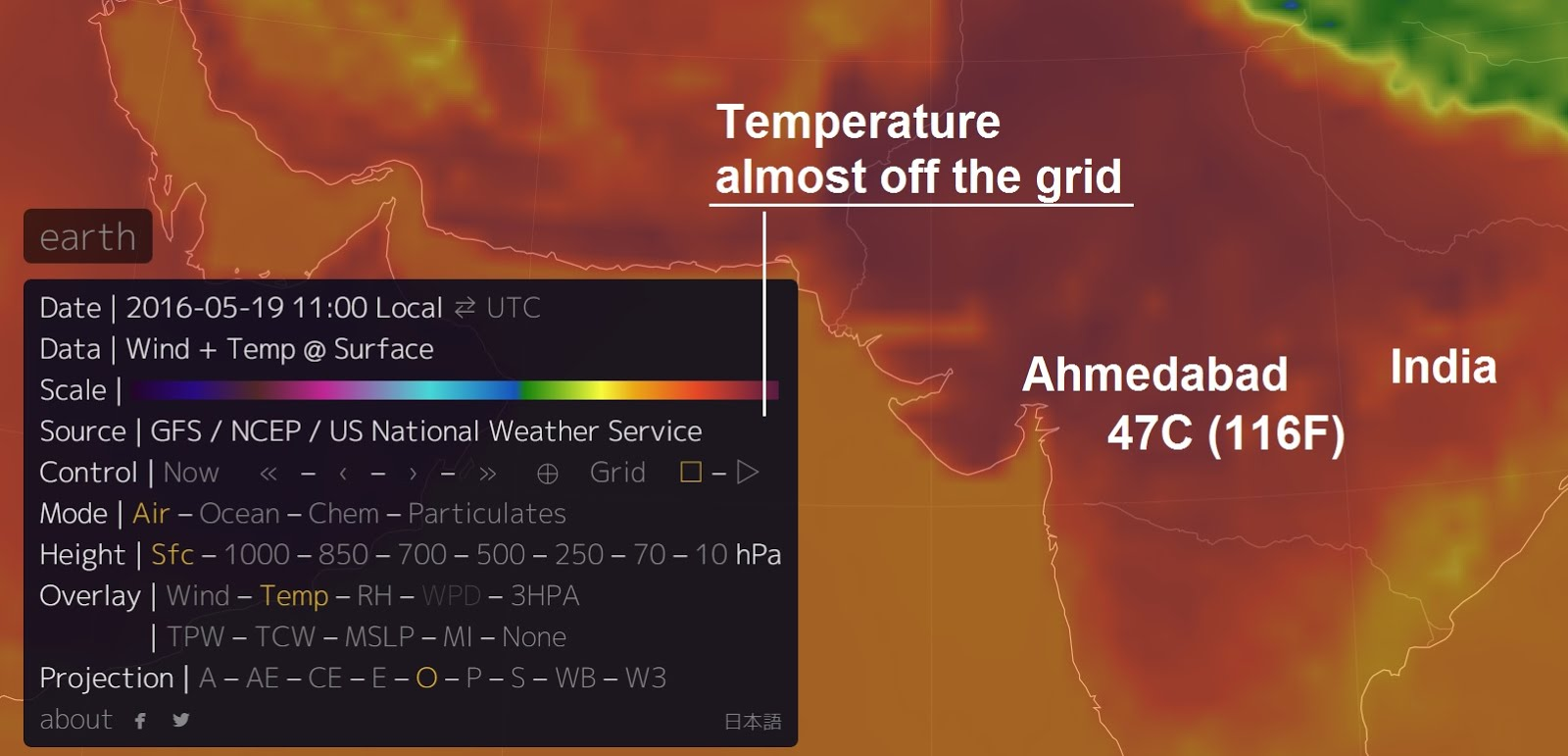 Parts of India break 100 year old heat record as temperatures hit 47.8 degrees Celsius