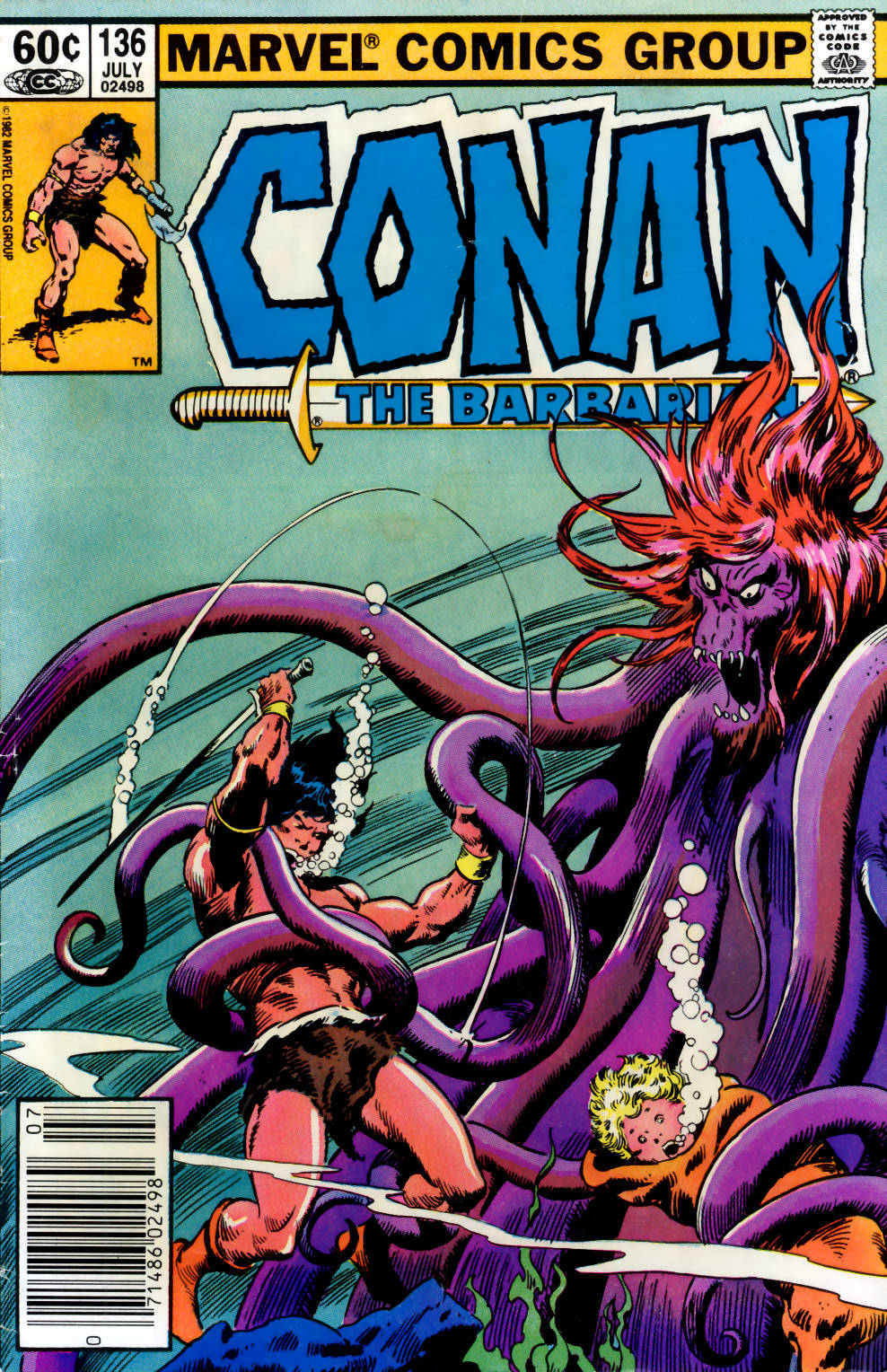 Conan the Barbarian (1970) Issue #136 #148 - English 1