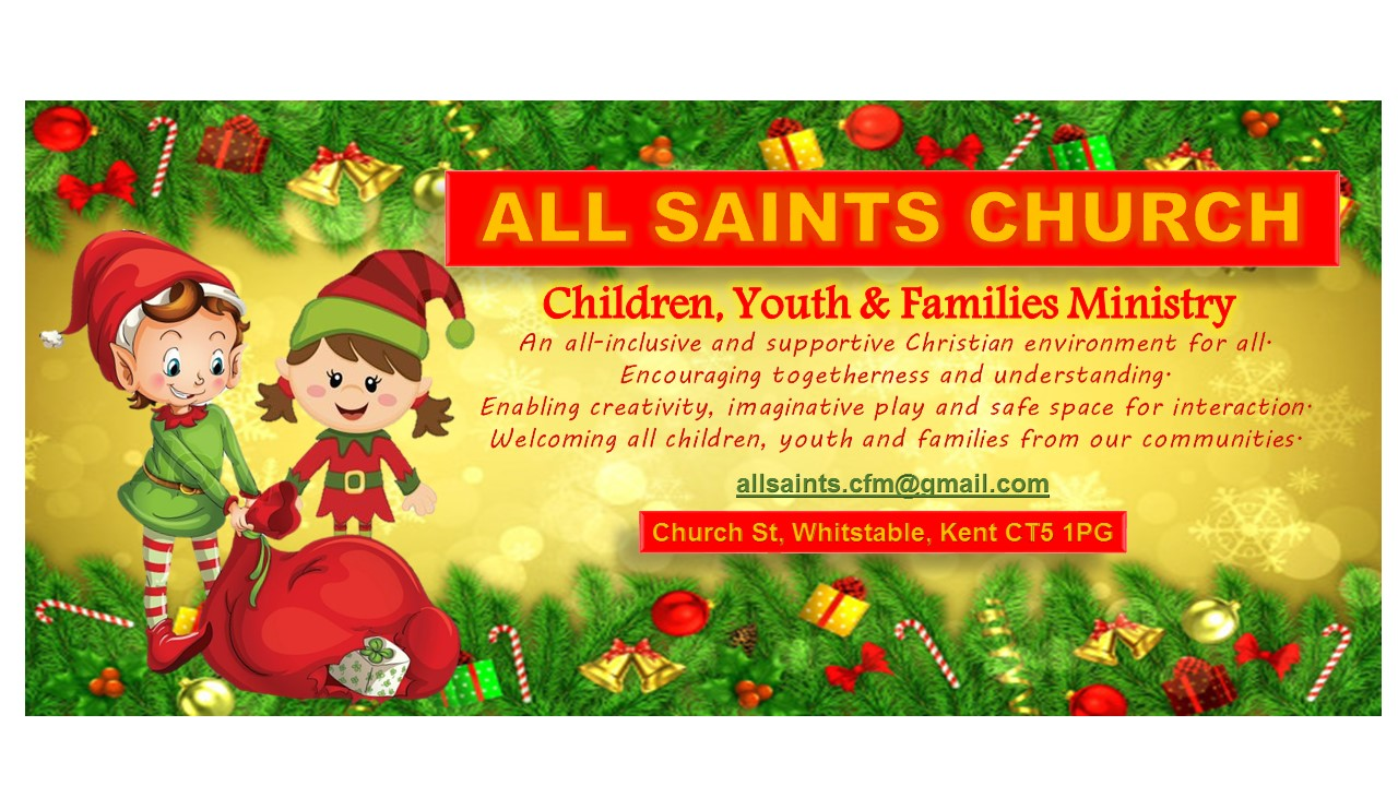 Children and Families Ministry at All Saints