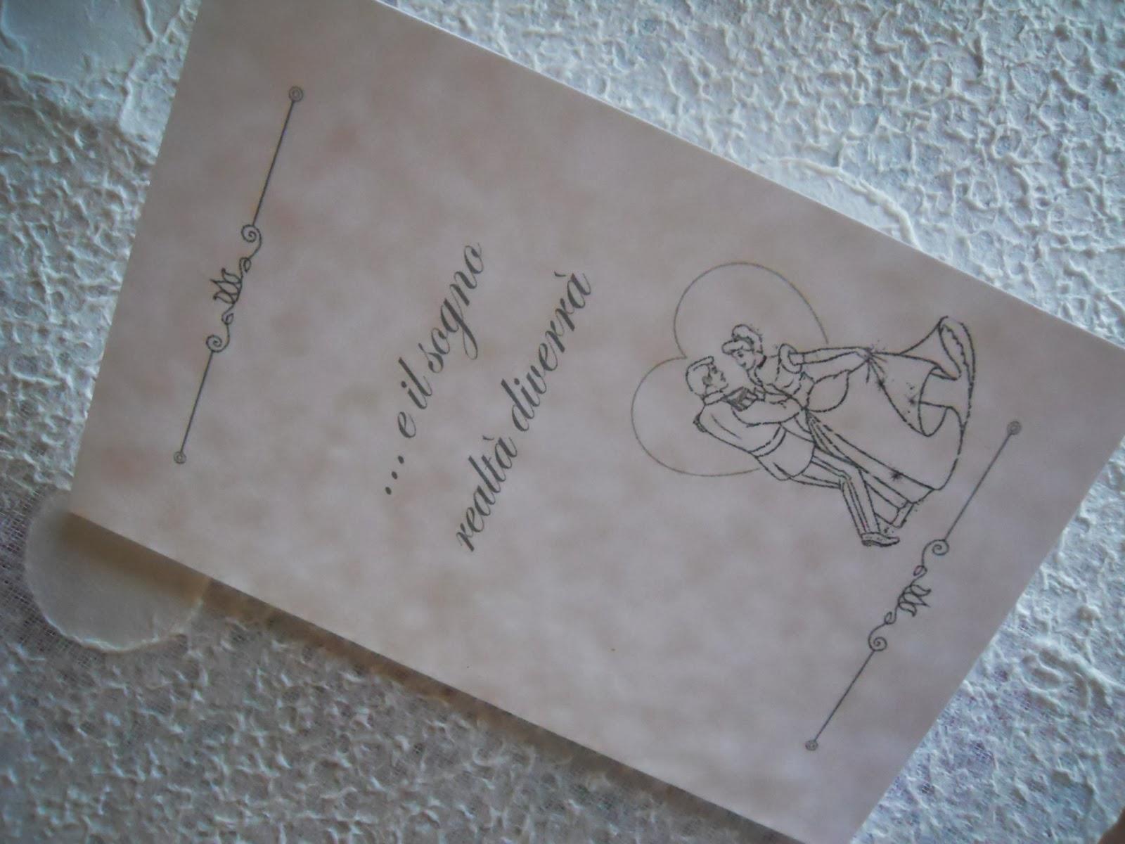 Matrimonio Tema Il Sogno : Eventilab partecipazioni e coo rdinati tema quot favole disney