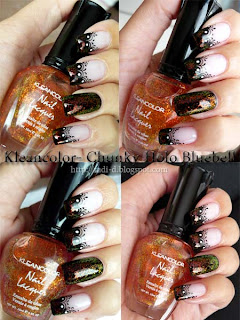 Kleancolor 235 Chunky Holo Bluebell