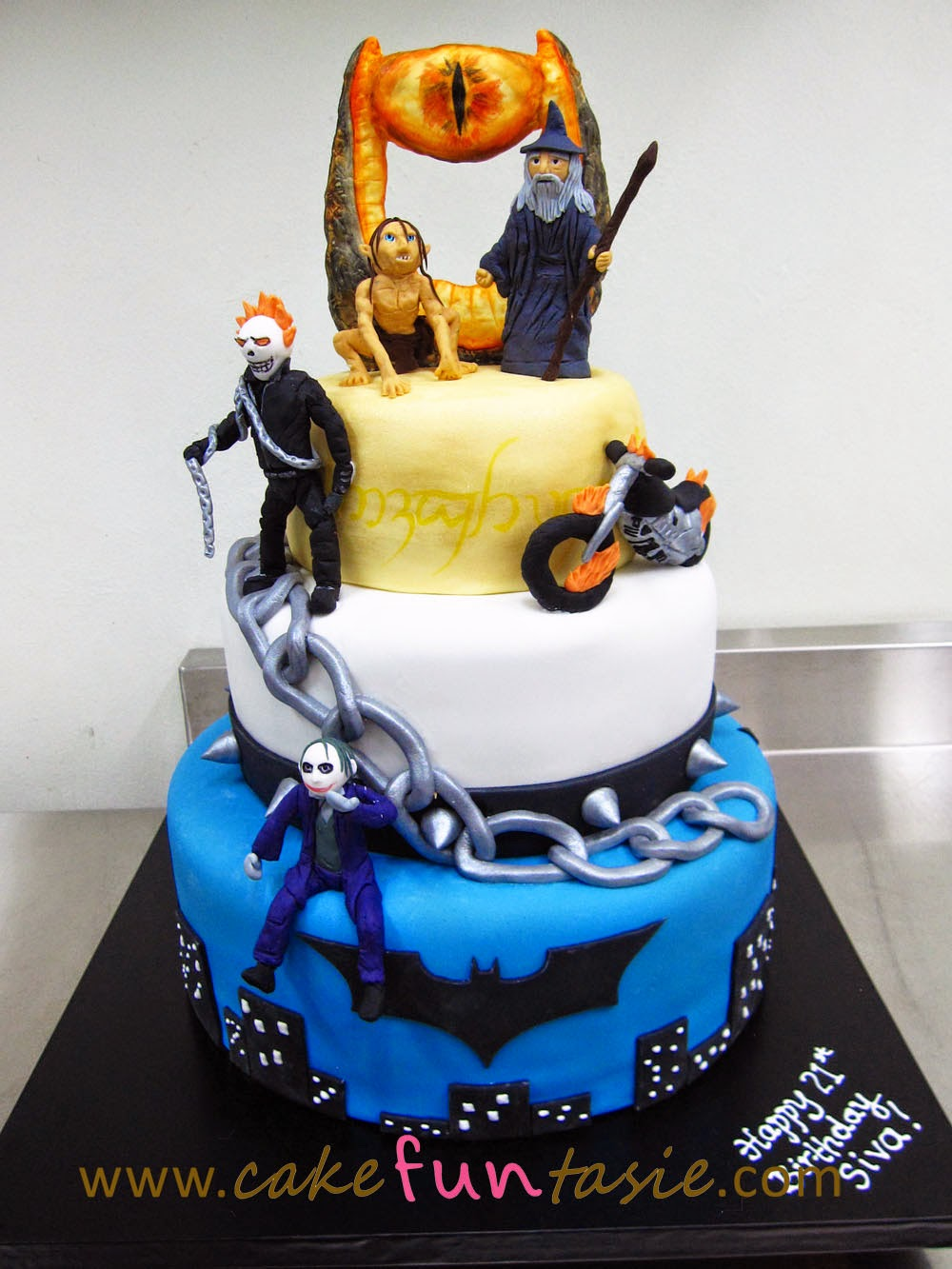 Ghost Rider Cake Images