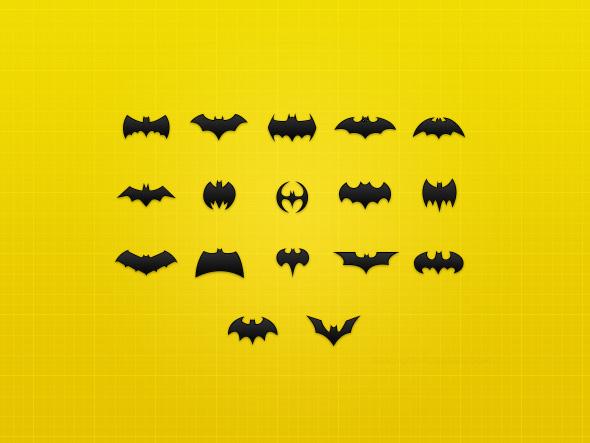 batman iconos