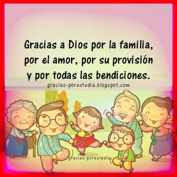 Reflexión sobre dar Gracias a Dios en familia, celebra un día de acción de gracias por Mery Bracho