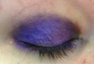 nyx jumbo eye pencil in electric blue and purple velvet the look