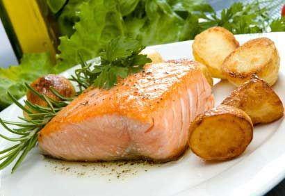 Recette facile et simple filets de saumon au cari plat for Plat simple et convivial