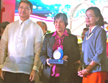 NISMED gets DOST-SEI Silver Pillar Award