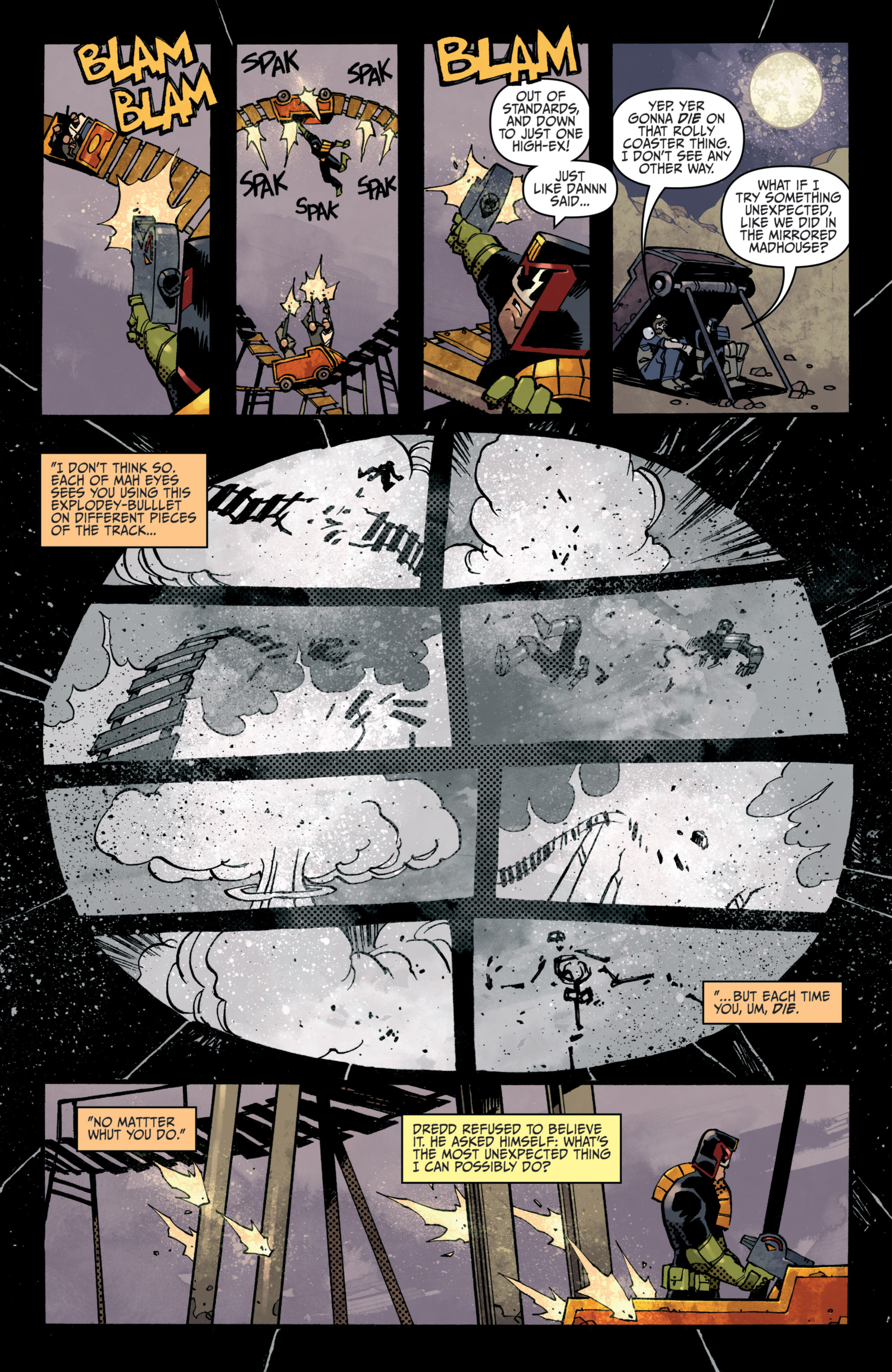 Read online Judge Dredd (2012) comic -  Issue # _TPB 3 - 43
