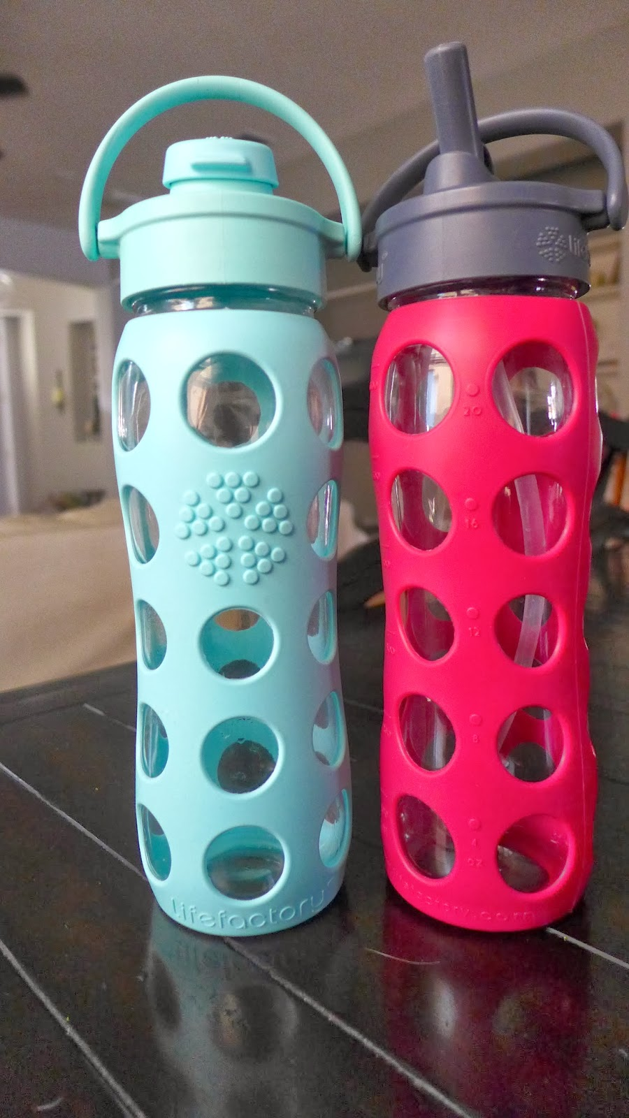 LifeFactory Water Bottles #water