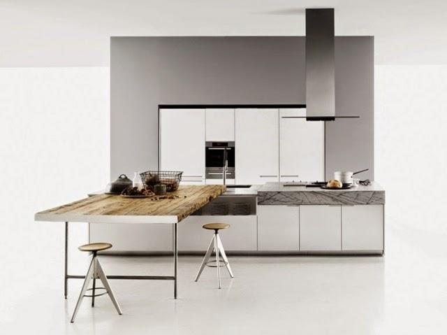 15 Elegant Minimalist Kitchen Designs With Modern Kitchen Furniture
