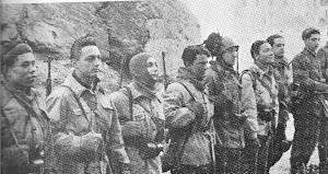 NOVEMBRE 1943-VALLE DEL BACCIA (GORIZIA)