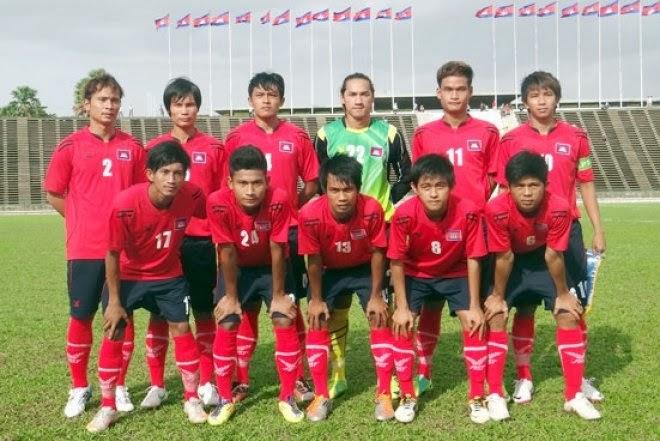 ... team : サッカーカンボジア代表