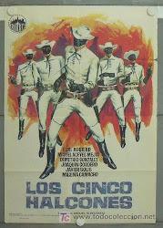 OS CINCO FALCÕES NEGRO - 1962