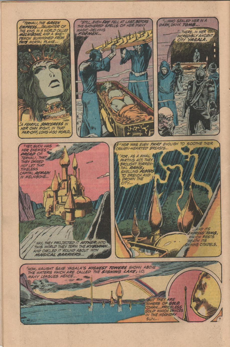 Conan the Barbarian (1970) Issue #14 #26 - English 8